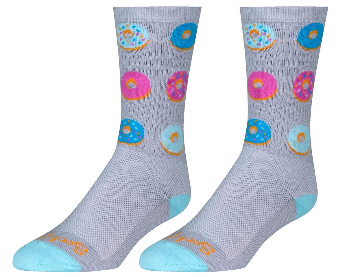 "Sockguy 6"" Crew Socks (Glazed) (L/XL)"