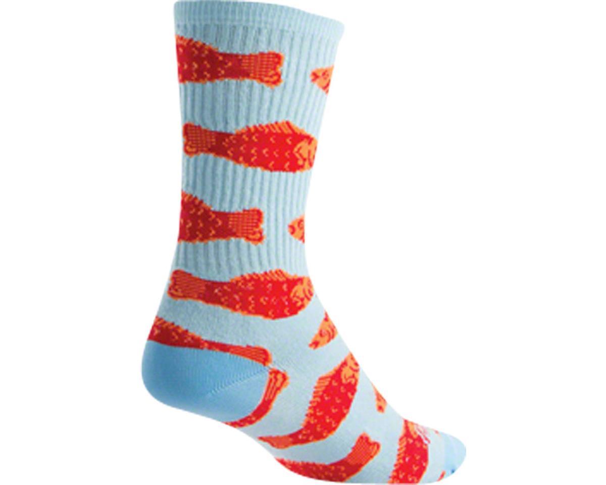 Sockguy Crew Go Fish Sock (Blue)