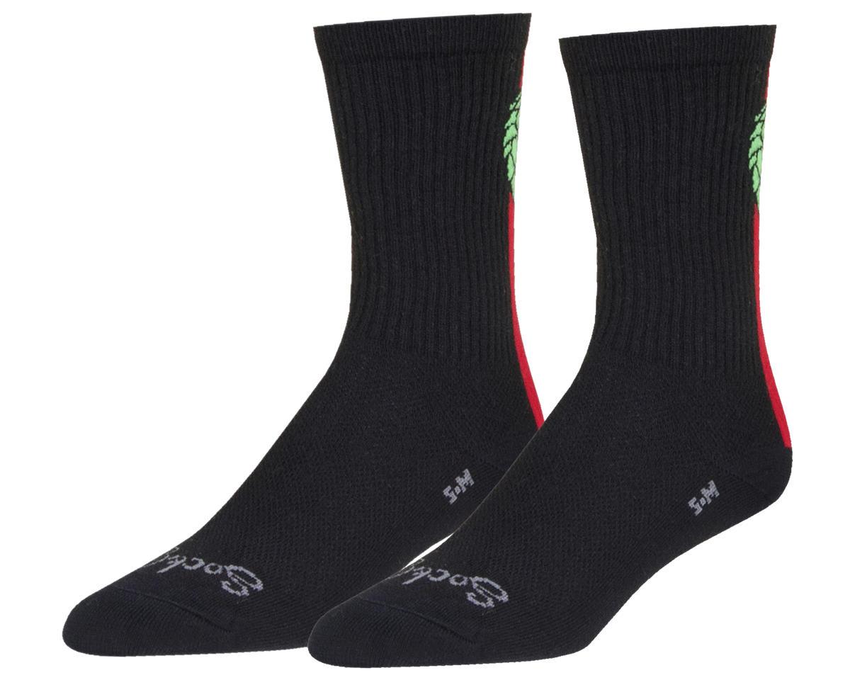 "Sockguy 6"" Socks (Hoppyness) (L/XL)"