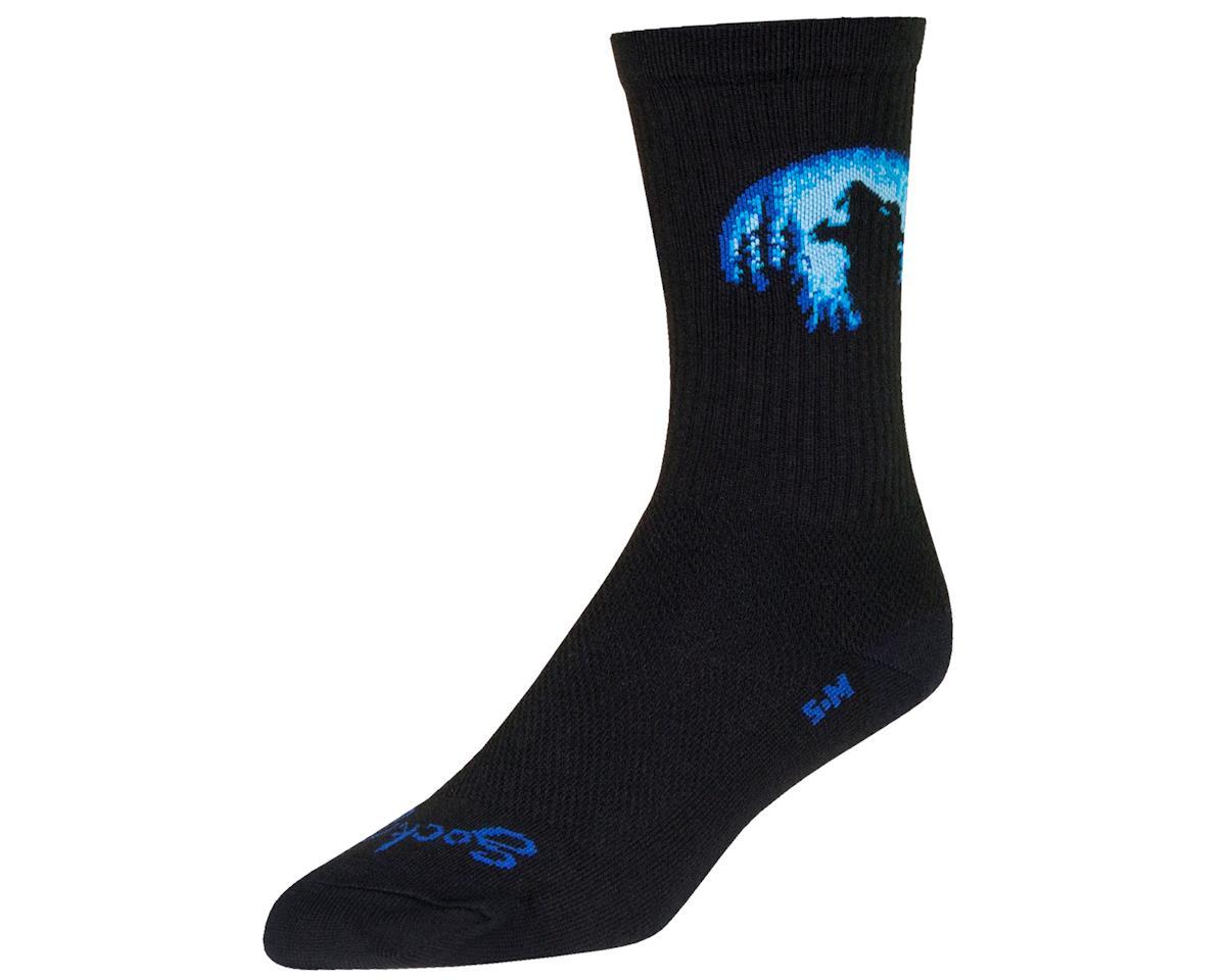 "Sockguy 6"" Crew Socks (Howl) (L/XL)"