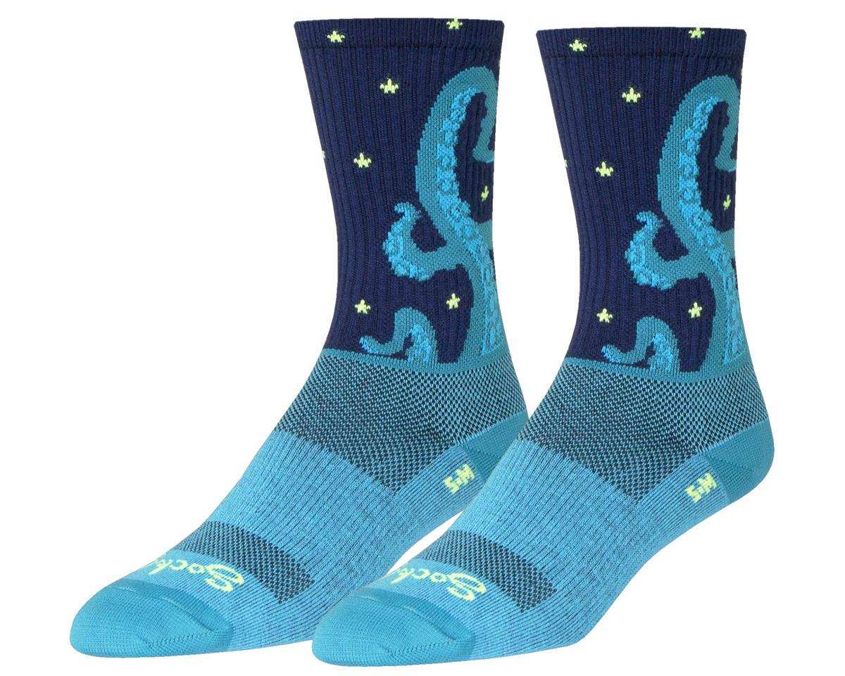 Kraken Crew Socks (Black/Blue)