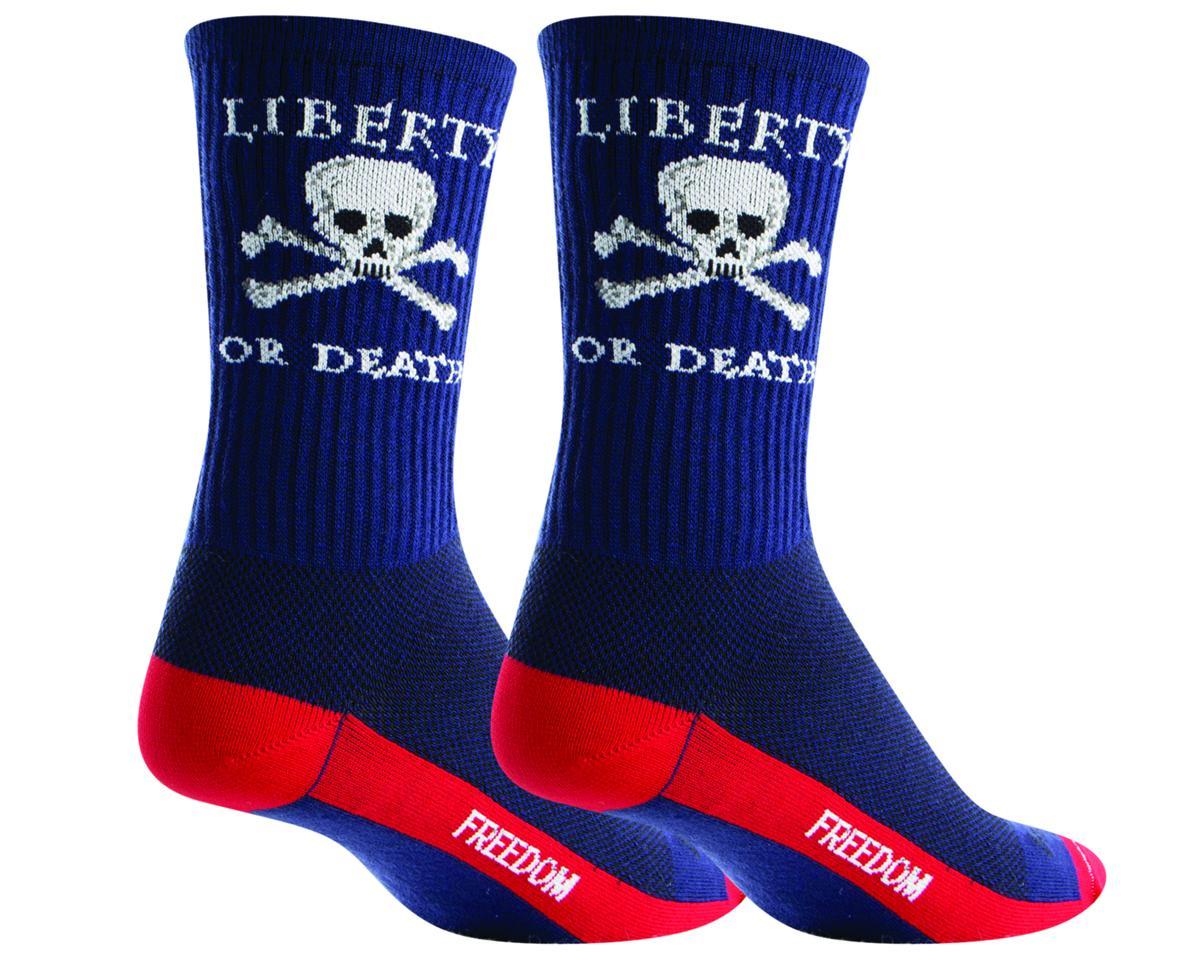 Sockguy Crew Liberty or Sock (Blue) (S/M)