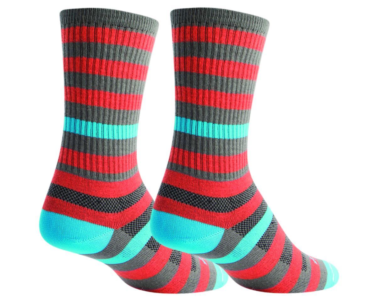 Sockguy Crew Metro Sock (Orange/Gray) (S/M)