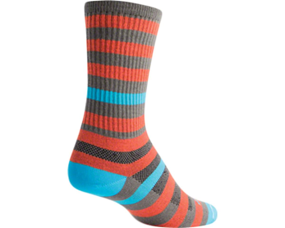 Sockguy Crew Metro Sock (Orange/Gray) (L/XL)