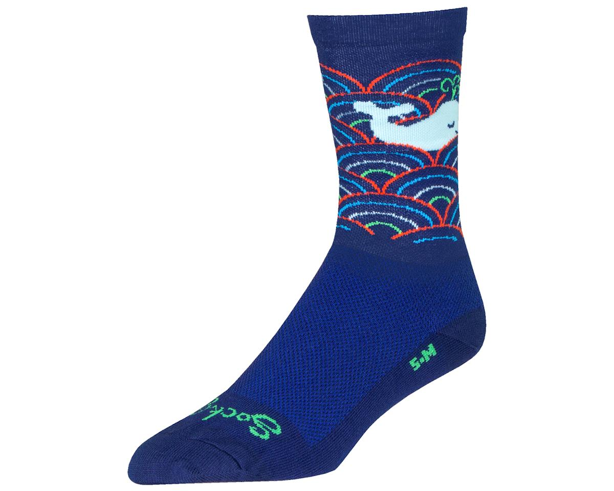 "Sockguy 6"" Socks (Whale) (L/XL)"