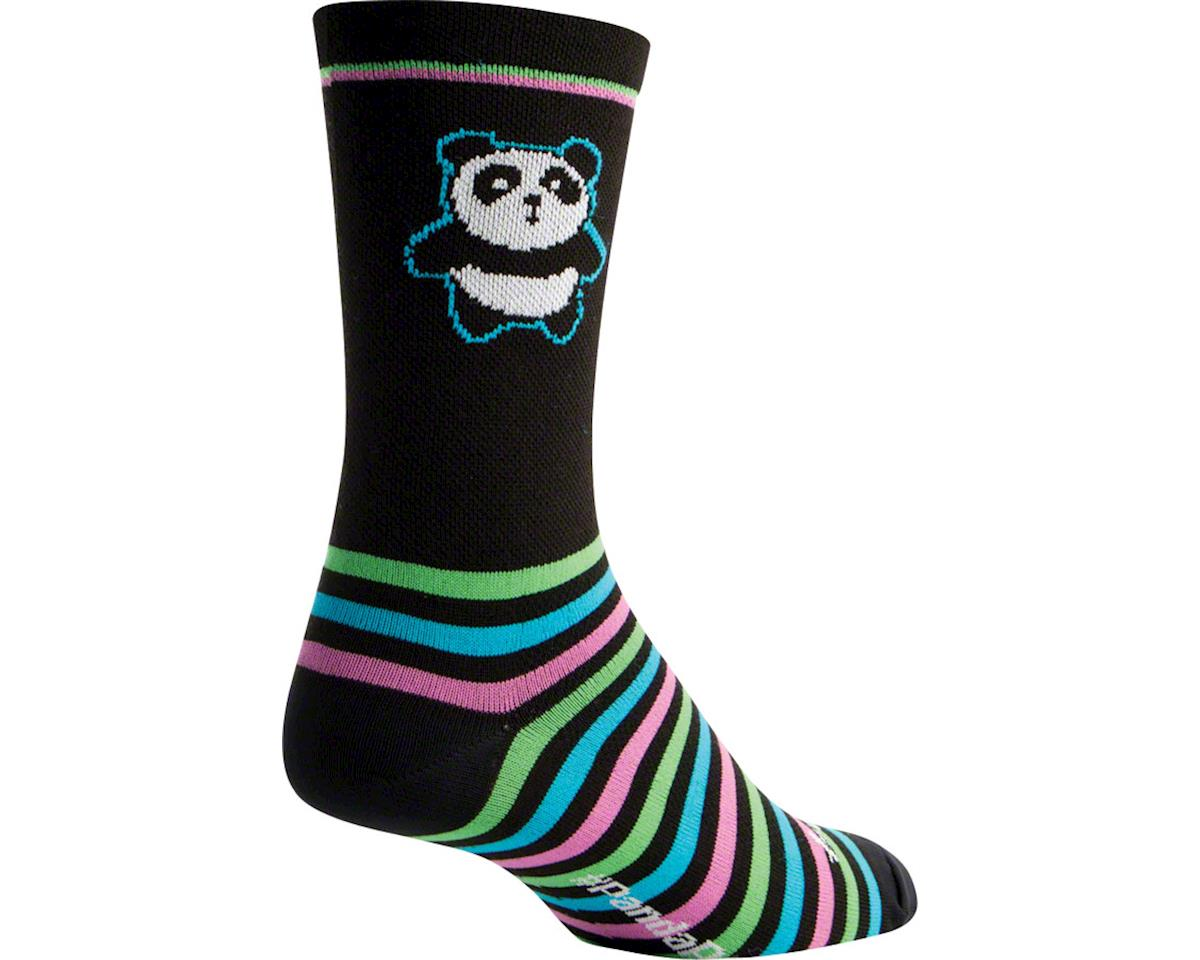Sockguy Crew Panda Power Sock (Black) (S/M)