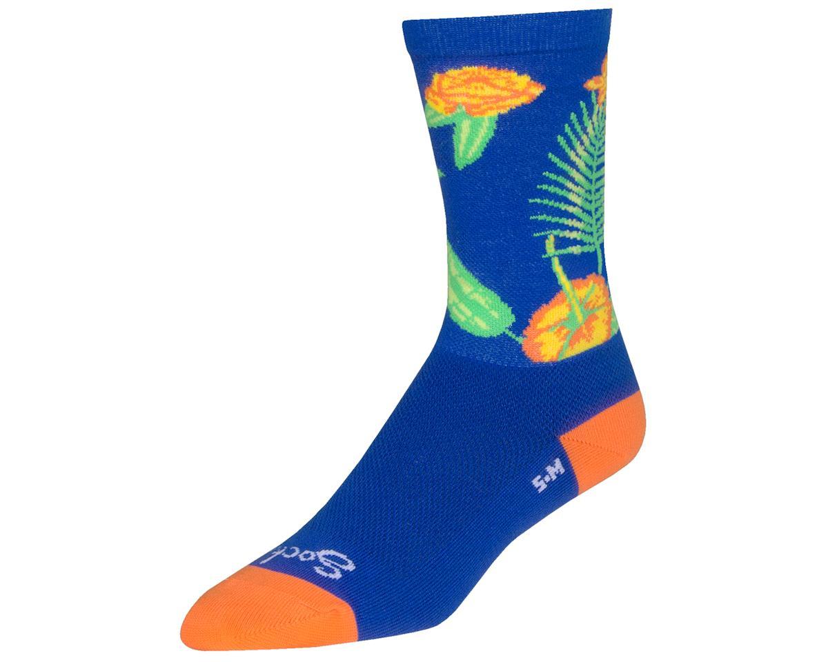 "Sockguy 6"" Crew Socks (Paradise) (L/XL)"