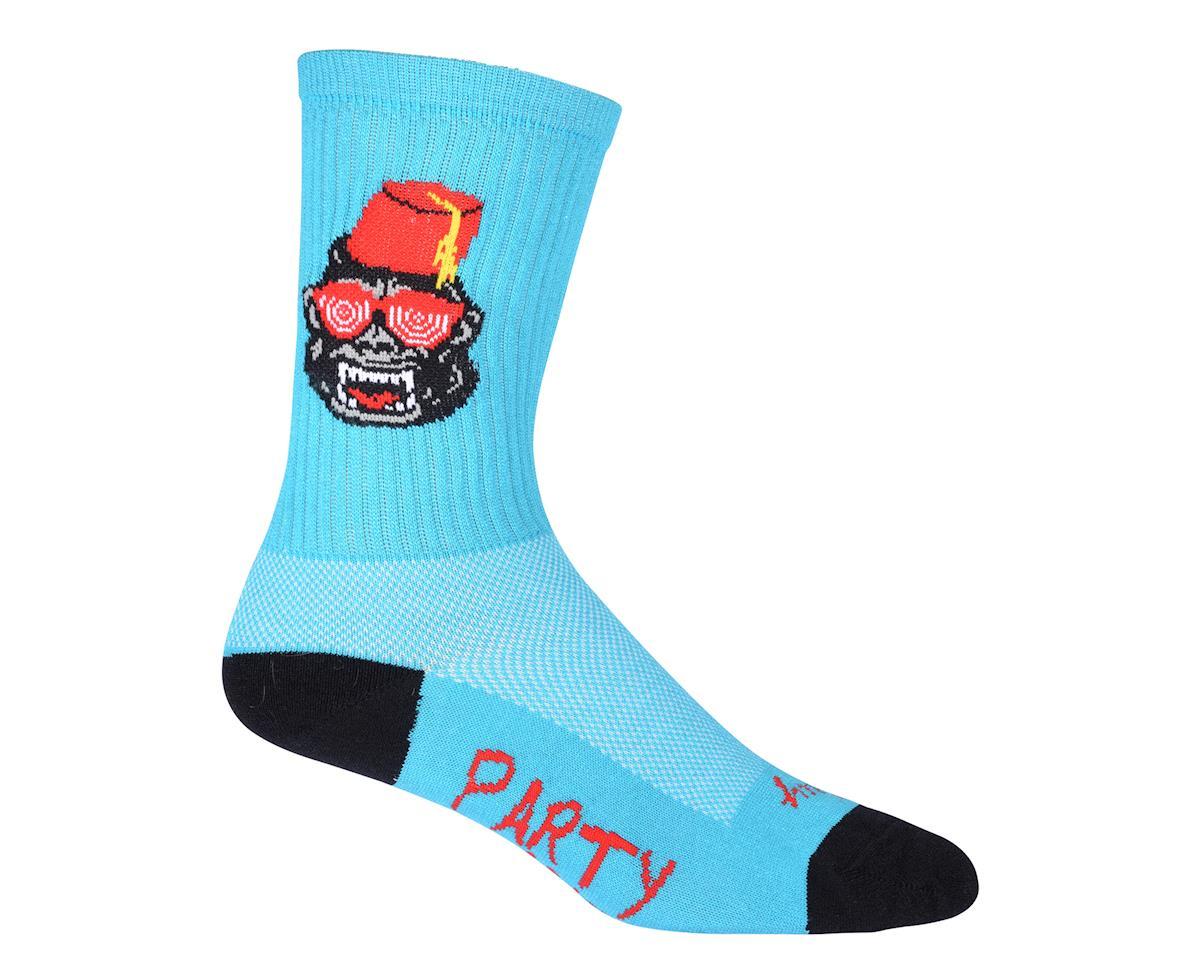 "Sockguy 6"" Socks (Party Animal) (L/XL)"