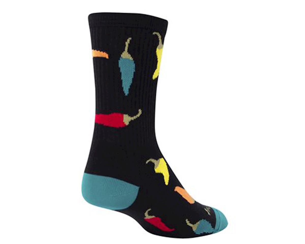 """Sockguy 6"""" Socks (Peppers)"""