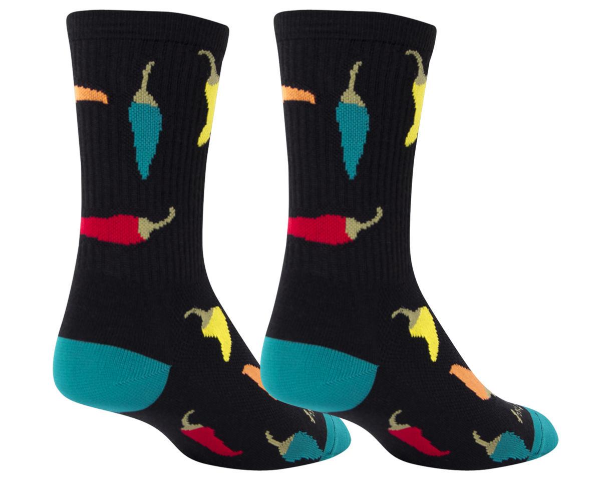 Sockguy Peppers crew socks (10-13)