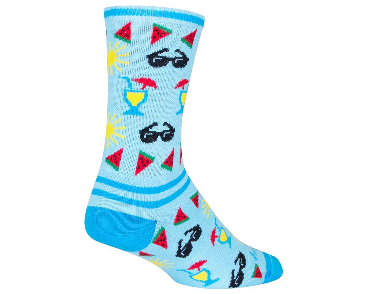 "Sockguy 6"" Socks (Pool Side) (S/M)"