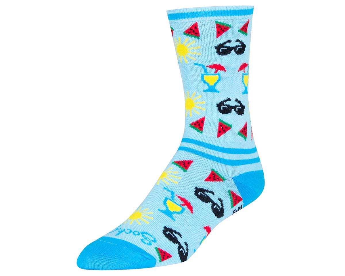 "Sockguy 6"" Socks (Pool Side) (L/XL)"