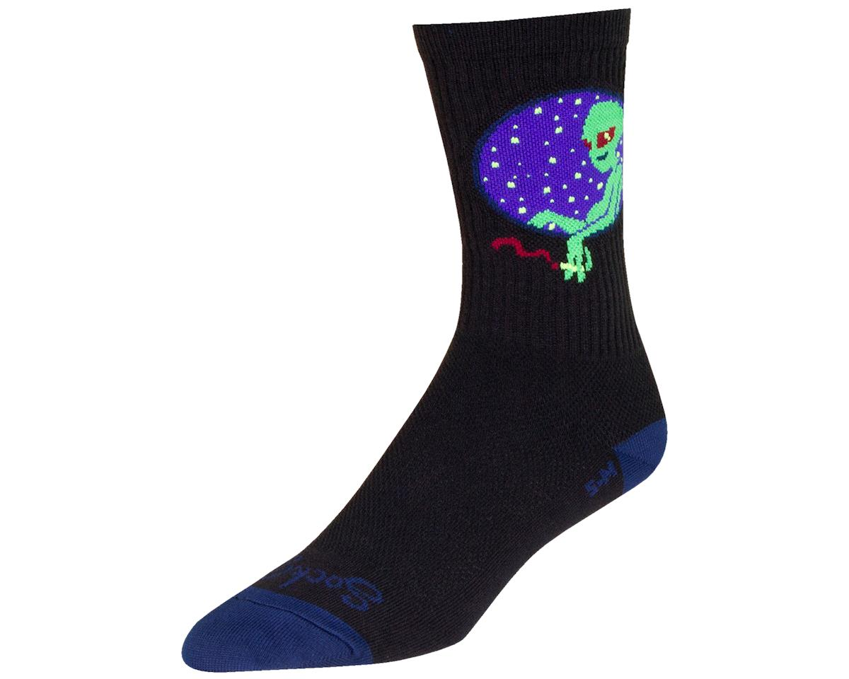 """Sockguy 6"""" Crew Socks (Probe) (L/XL)"""