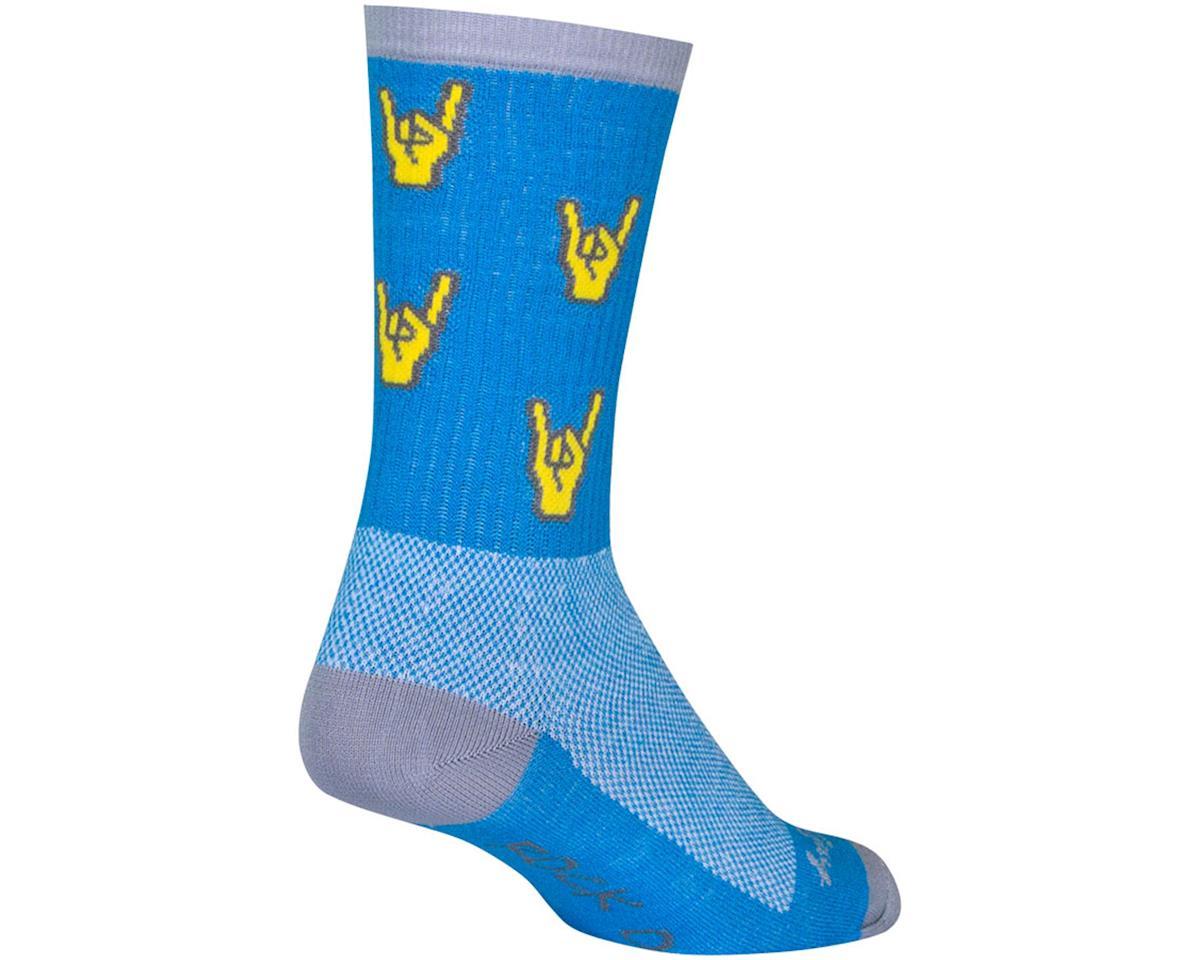 "Sockguy 6"" Socks (Rock On) (L/XL)"