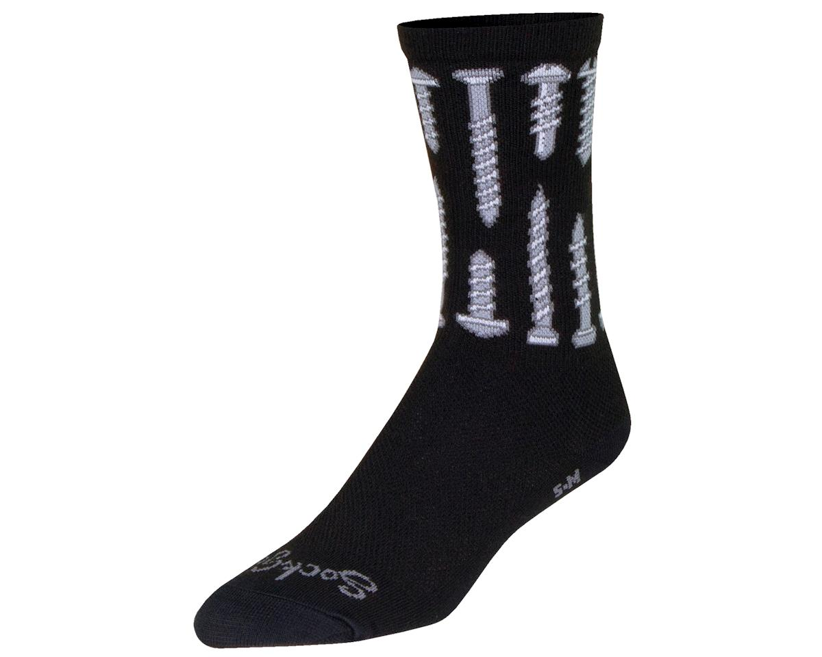 "Sockguy 6"" Crew Socks (Screw It) (L/XL)"
