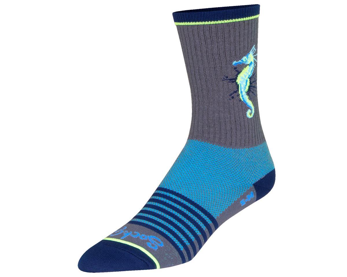 "Sockguy 6"" Socks (Seahorse) (L/XL)"