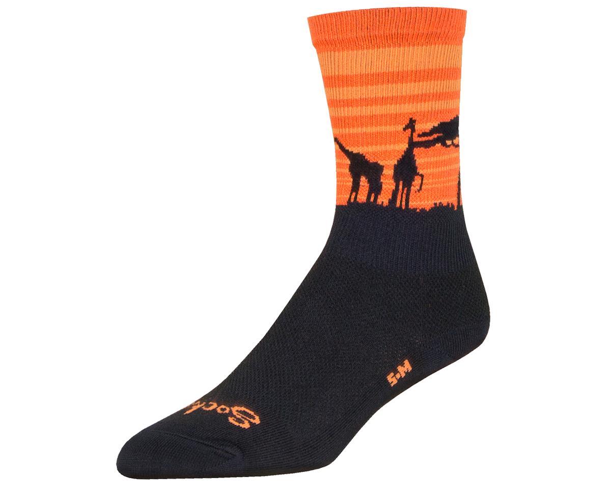 """Sockguy 6"""" Socks (Serengeti) (L/XL)"""
