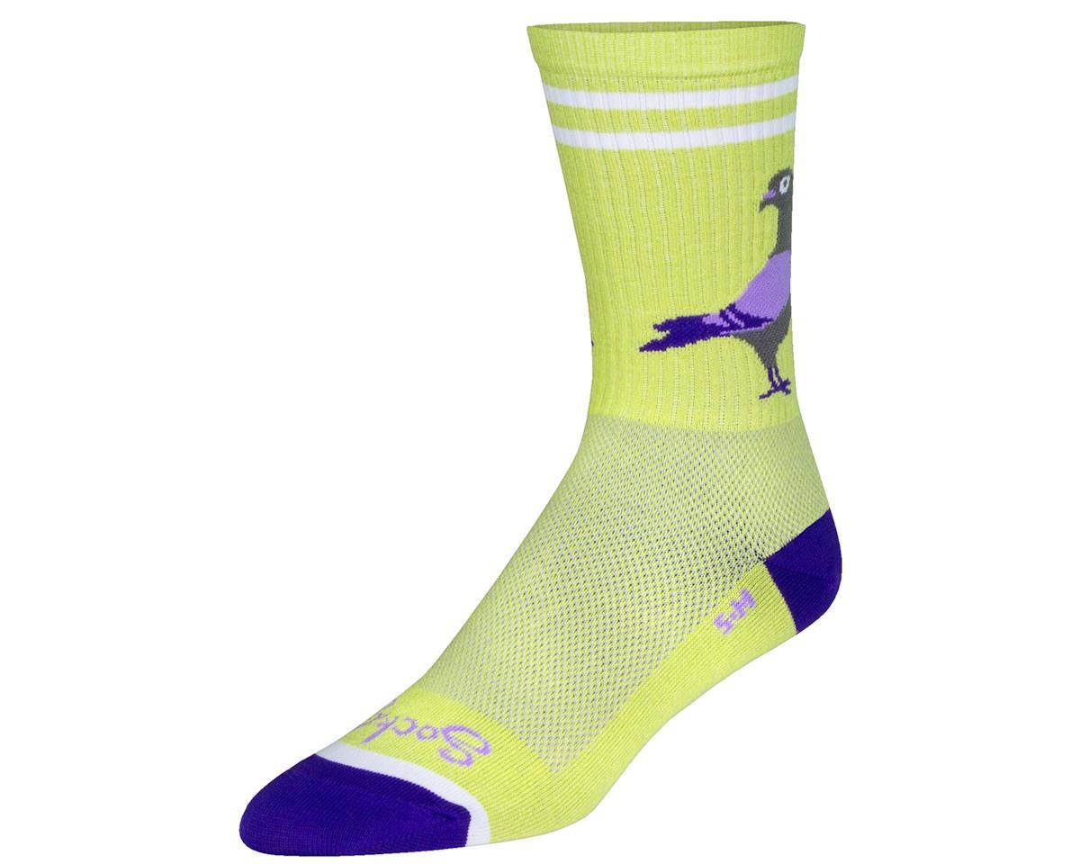 "Sockguy 6"" Crew Socks (Stay Coo) (L/XL)"