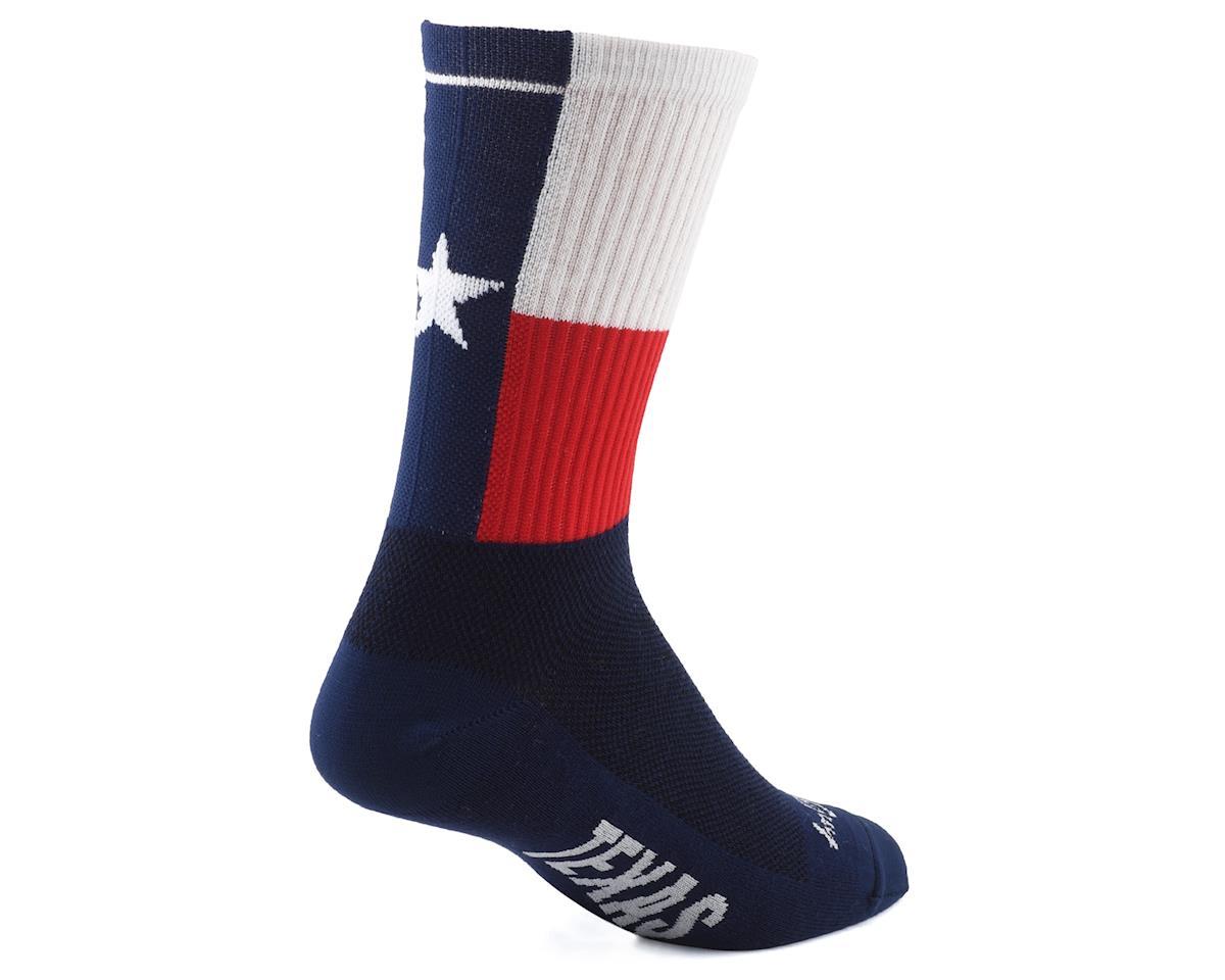"""Sockguy 6"""" Socks (Texas) (L/XL)"""