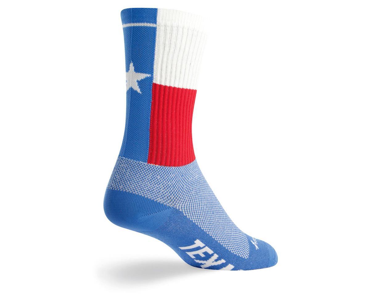 "Sockguy Texas 6"" Acrylic Crew Socks (S/M)"