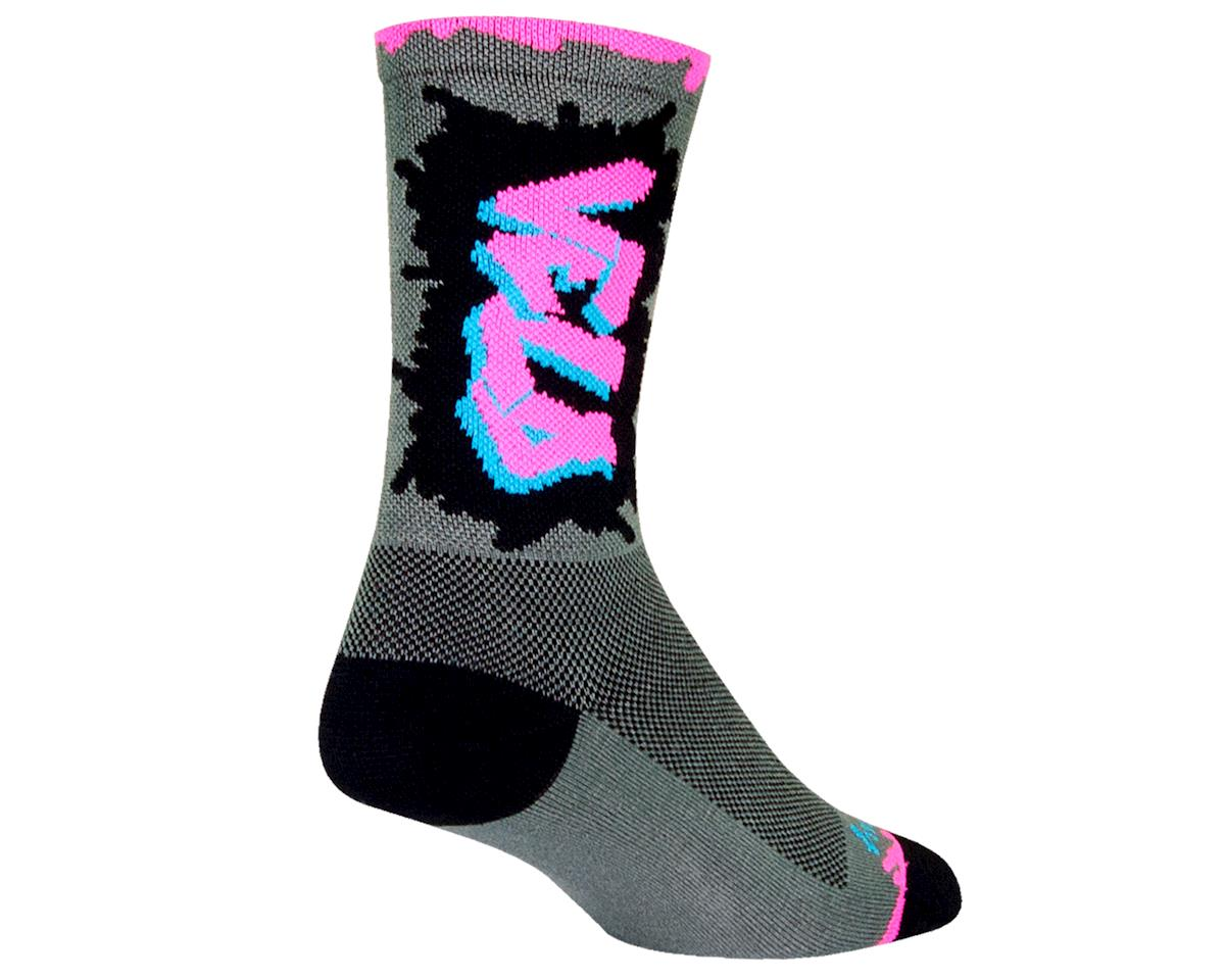 """Sockguy Crew 6"""" Cuff Sock (L/XL)"""