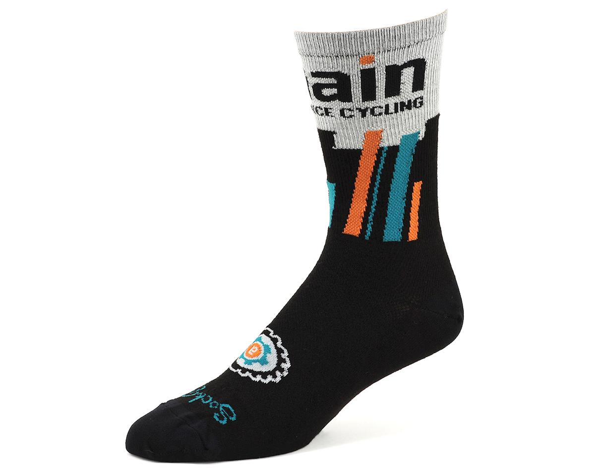 "AMain Cycling Custom Acrylic Socks by SockGuy (6"" Cuff) (L/XL)"