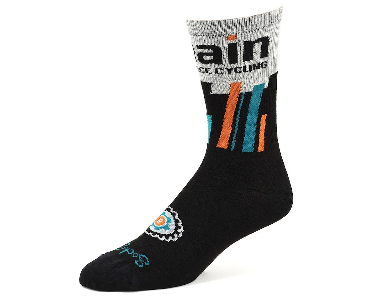 "AMain Cycling Custom Acrylic Socks by SockGuy (6"" Cuff) (S/M)"