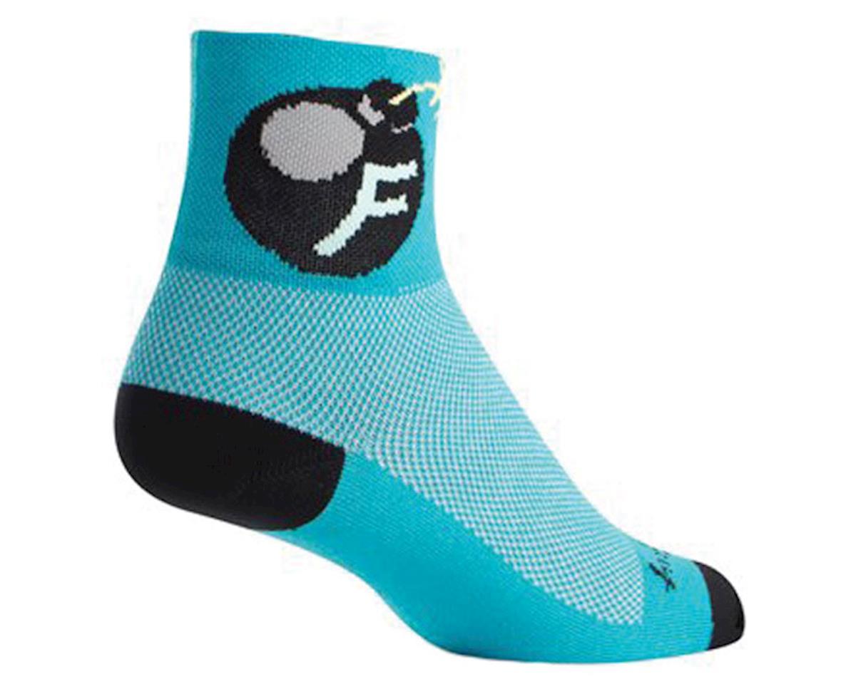 """Sockguy 3"""" Socks (F'Bomb) (L/XL)"""