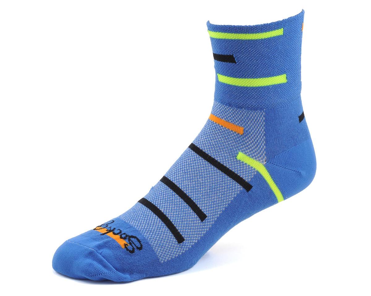 Sockguy Frogger Socks (Blue) (L/XL)