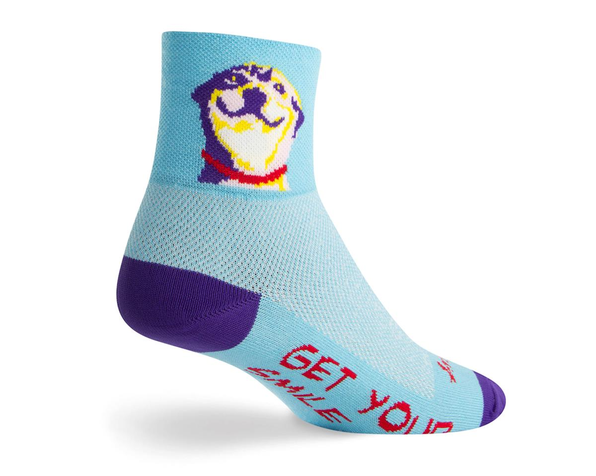 "Grin 3"" Cuff Socks"
