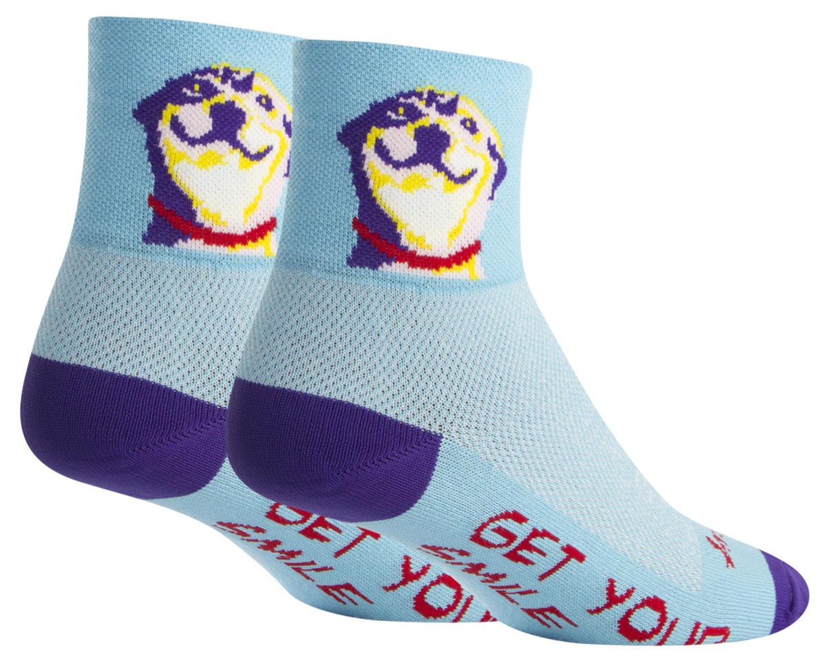 """Sockguy 3"""" Socks (Grin) (L/XL)"""