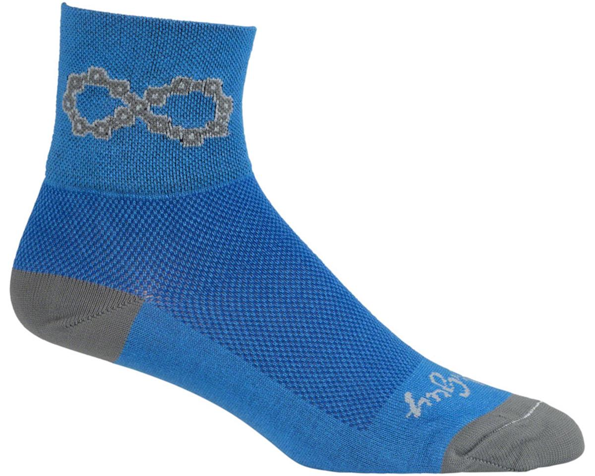 """Sockguy 3"""" Socks (Blue) (L/XL)"""