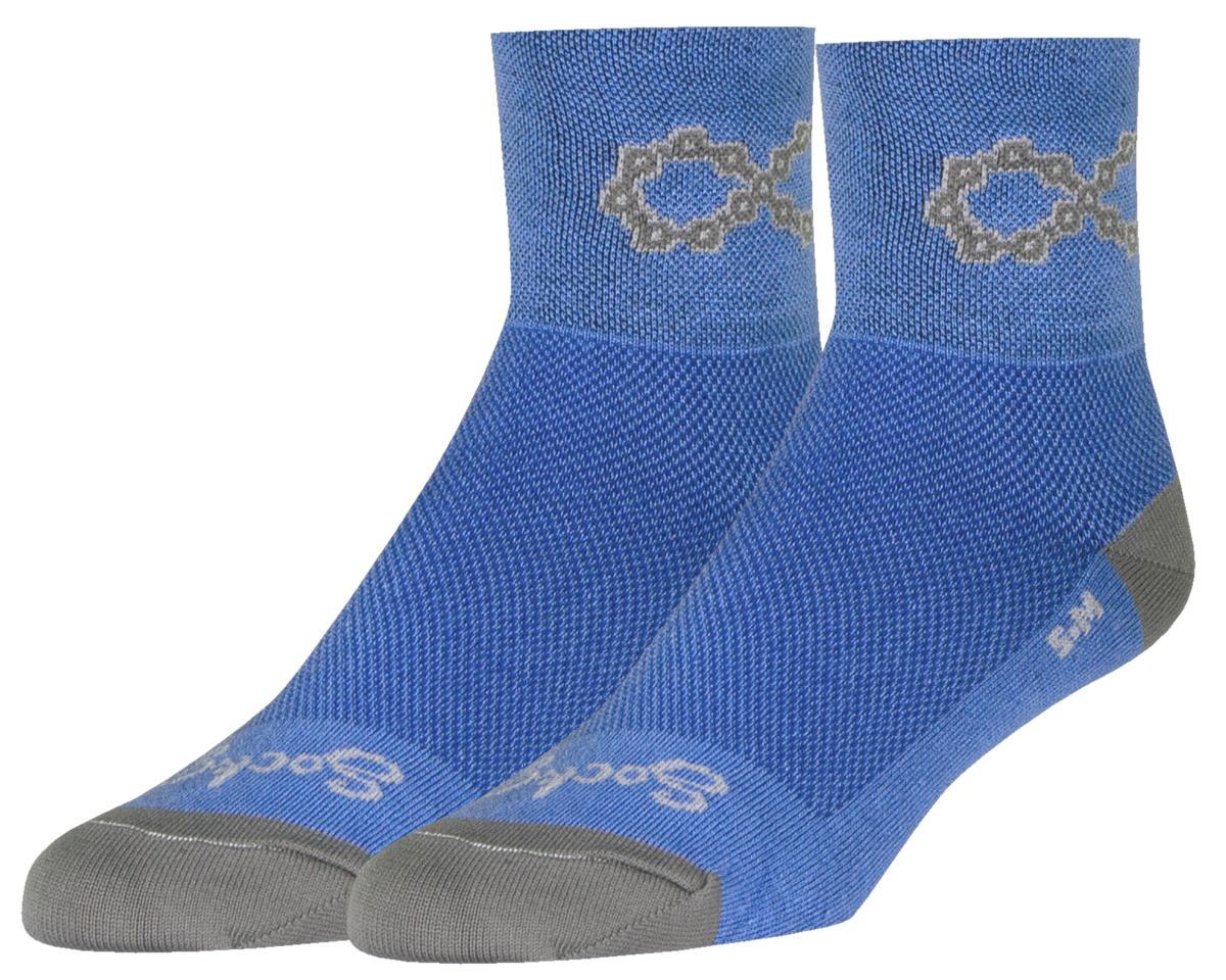 """Sockguy 3"""" Socks (Blue) (S/M)"""