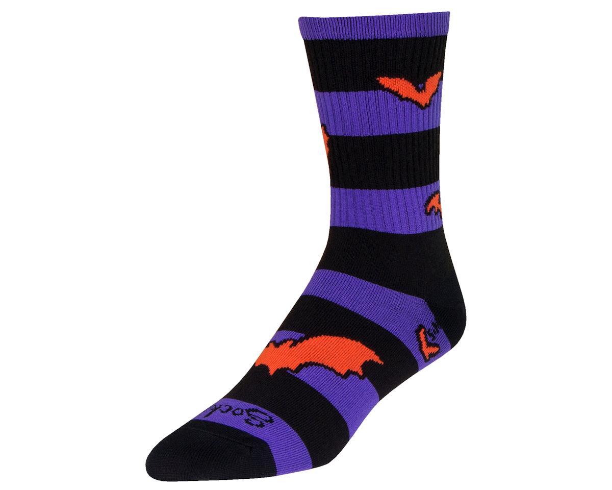 """Sockguy 6"""" Socks (Bats) (L/XL)"""