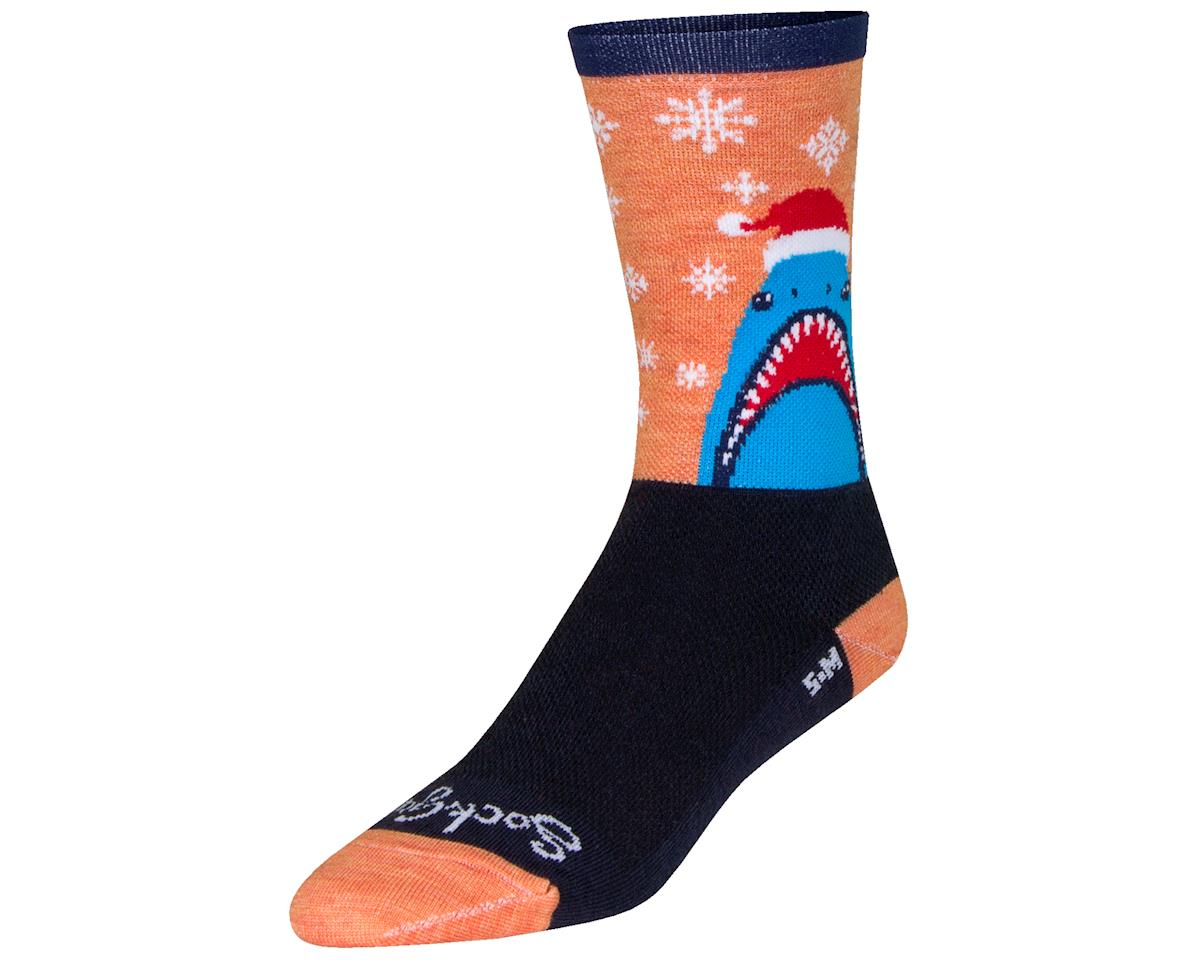 "Sockguy 6"" Socks (Chompmas) (L/XL)"