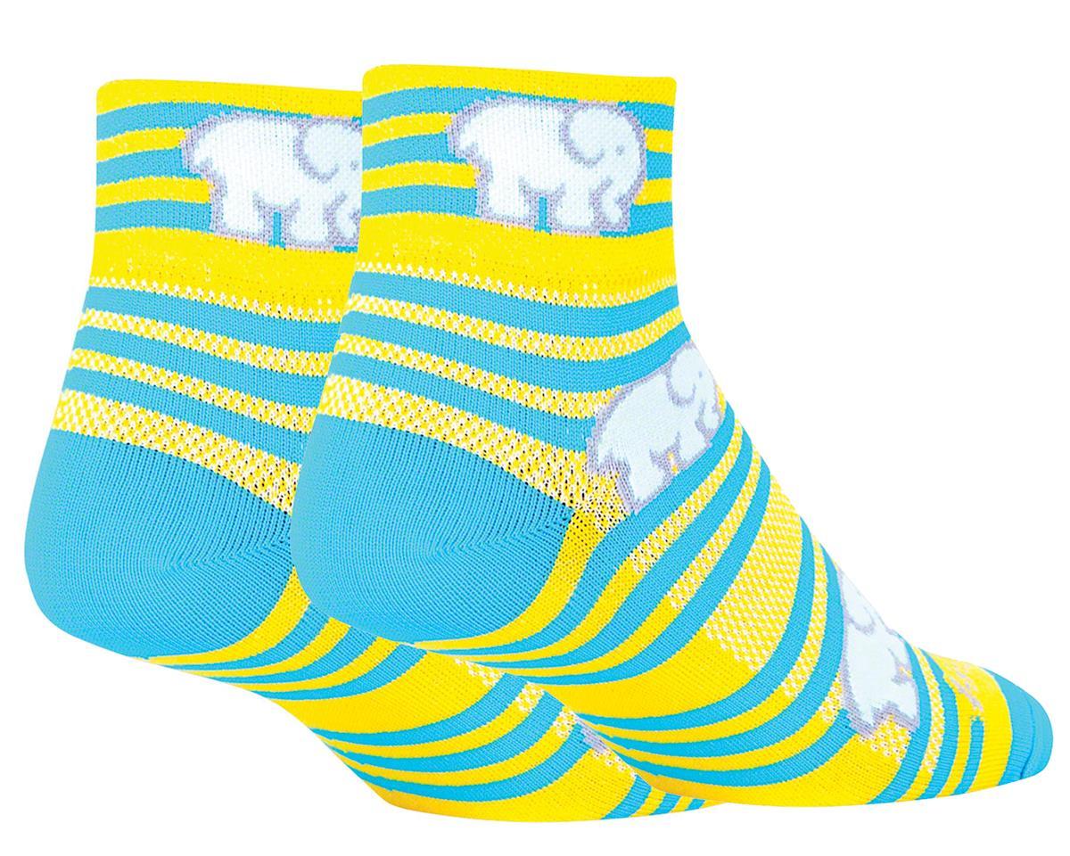 Sockguy Classic Ellie Women's Sock (Yellow/Blue) (S/M)