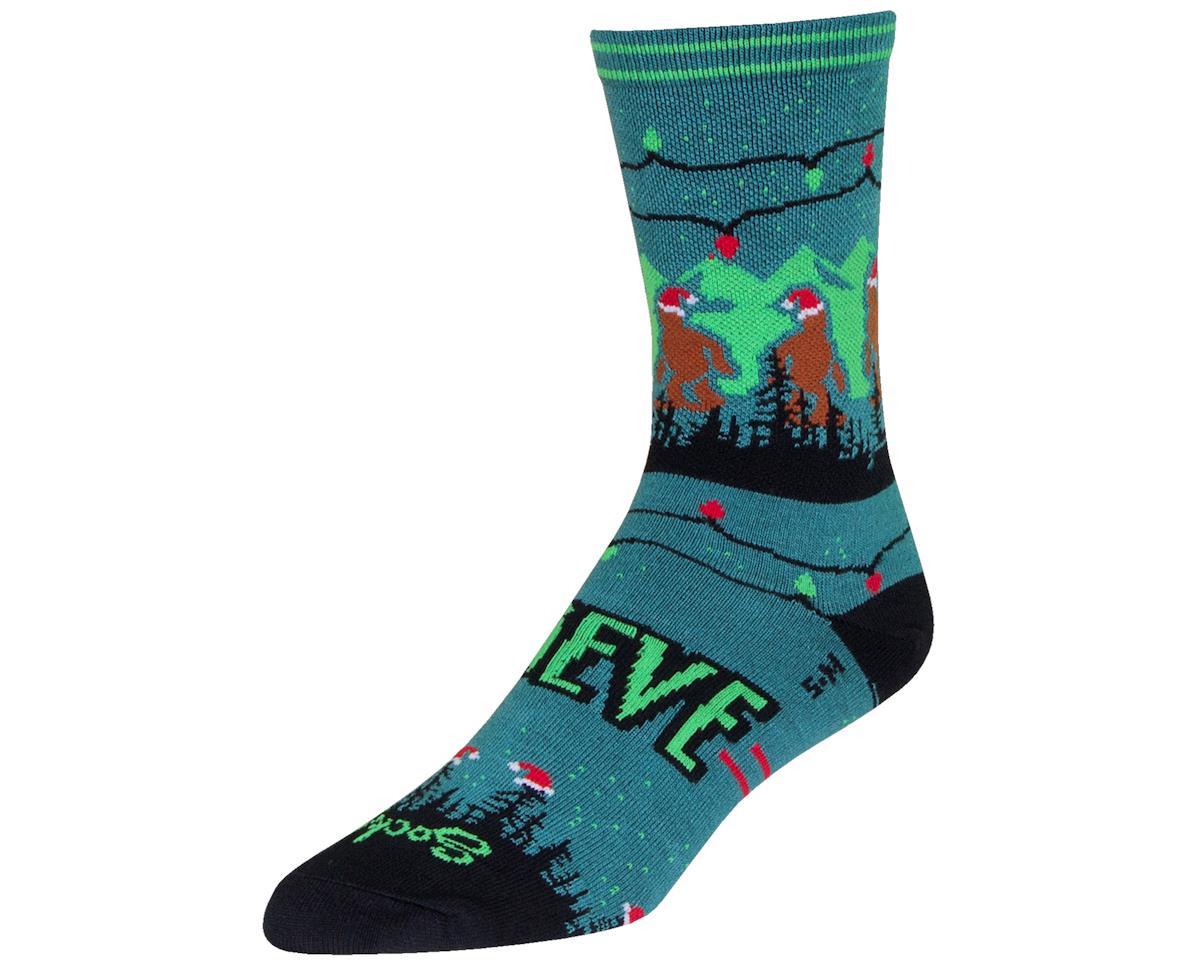 "Sockguy 6"" Socks (Santa Squatch) (L/XL)"