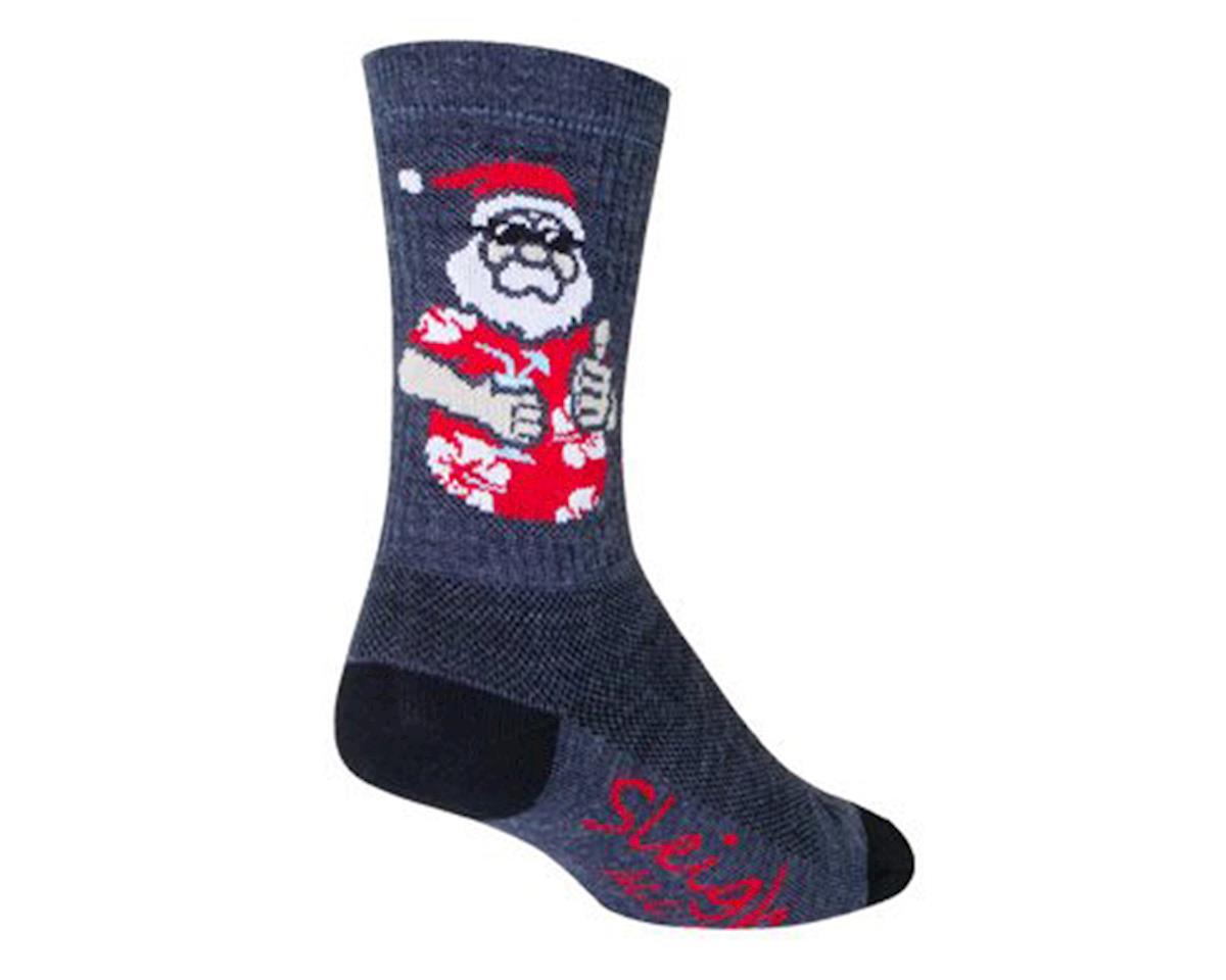 """Sockguy 6"""" Wool Sock (Sleigh) (S/M)"""