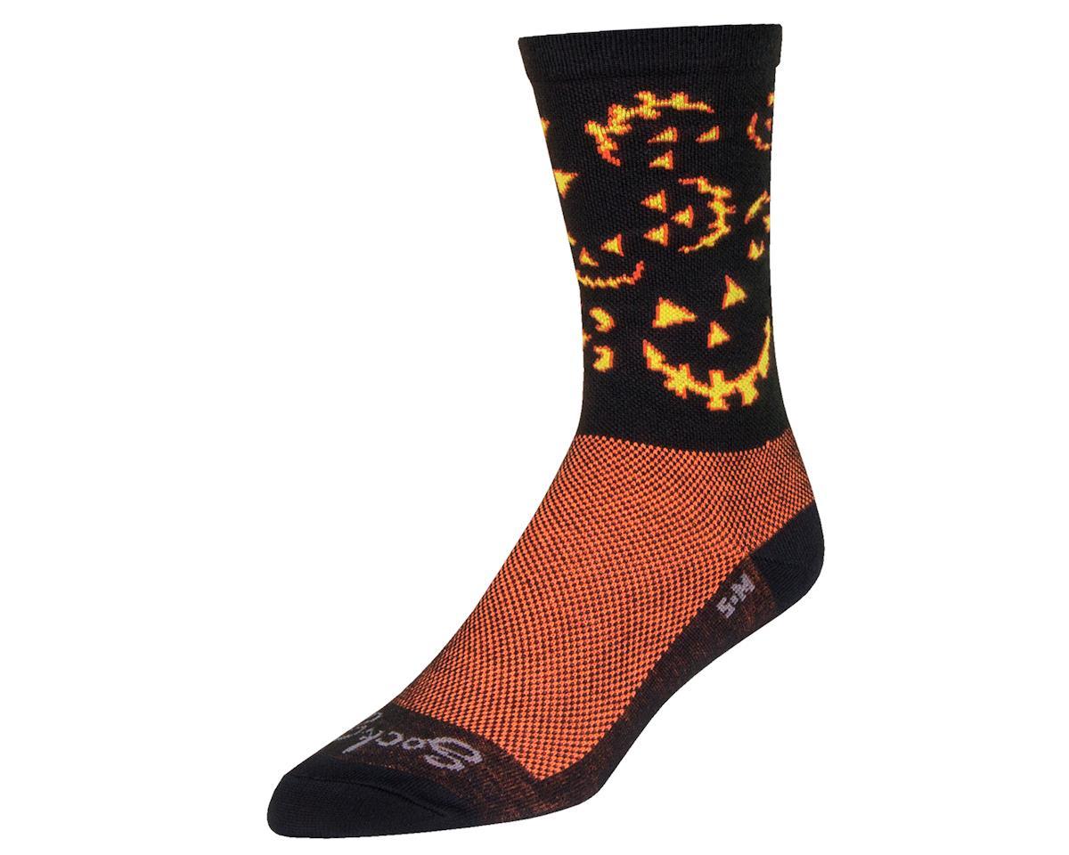 "Sockguy 6"" Socks (Spooky) (L/XL)"