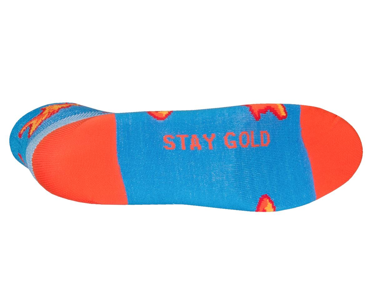 "Sockguy Women's 2"" Cuff Sock (Stay Gold) (S/M)"