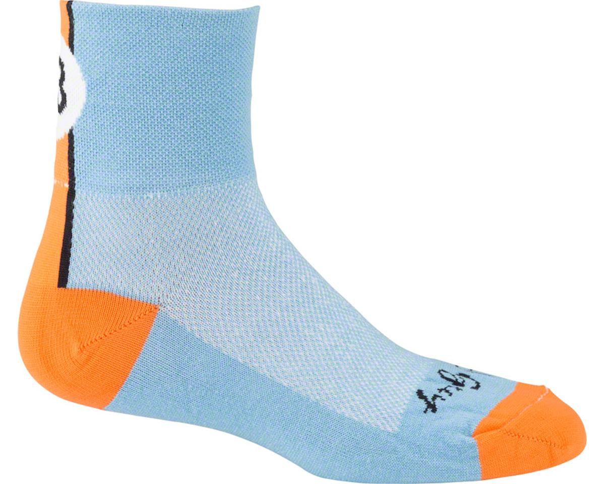 Sockguy Lucky 13 Socks (Light Blue)