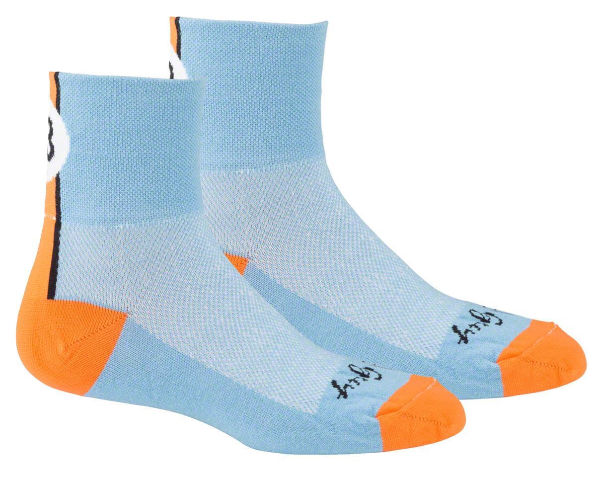 Sockguy Lucky 13 Socks (Light Blue) (S/M)