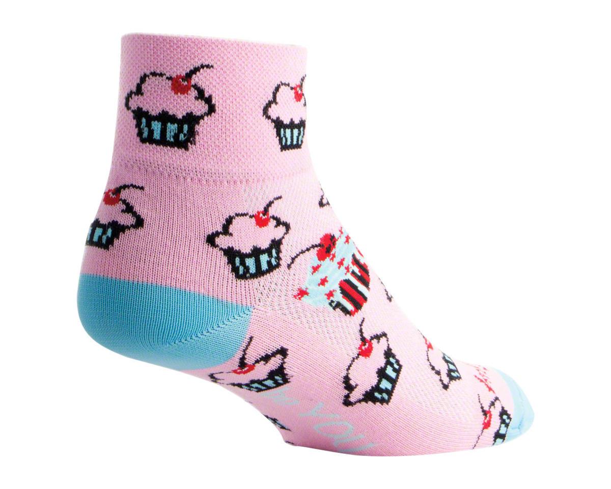 Sockguy Classic Unique Women's Sock (Pink) (S/M)