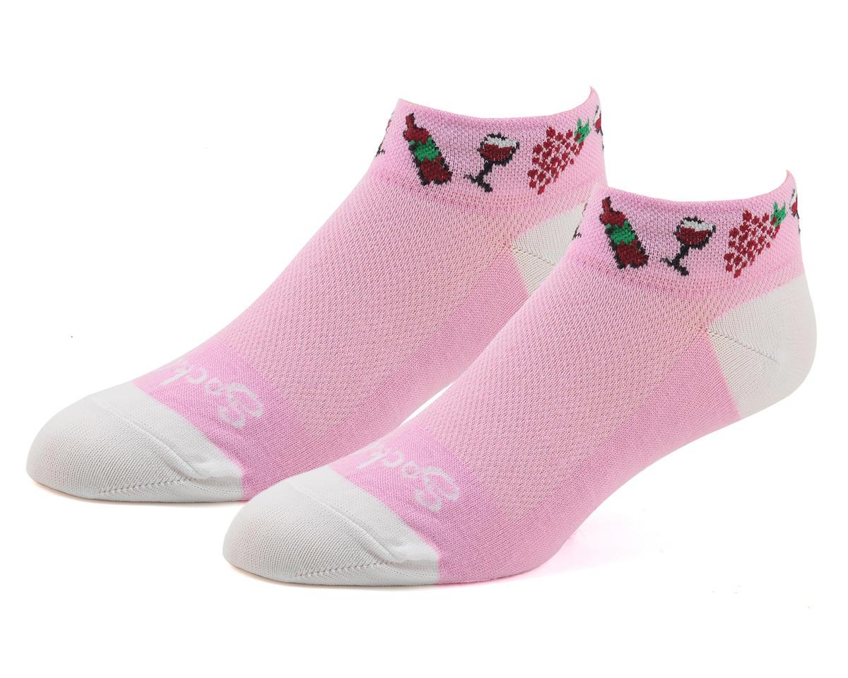 """Sockguy 1"""" Socks (Vino) (S/M)"""