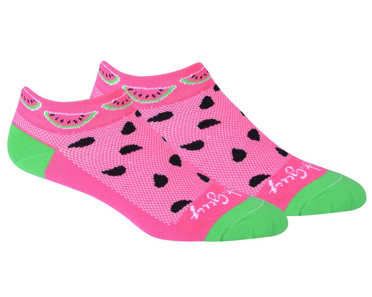 Sockguy Classic Watermelon Women's Sock (Pink) (S/M)