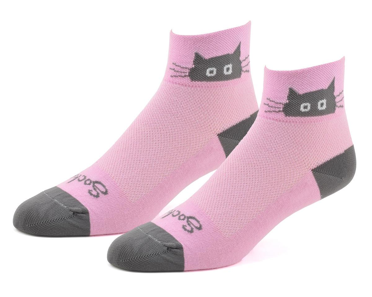 """Sockguy Whiskers 2"""" Women's Socks (S/M)"""