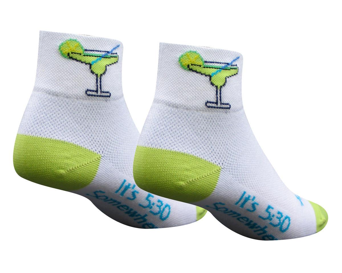 Sockguy Classic Margarita Women's Sock (White) (S/M)