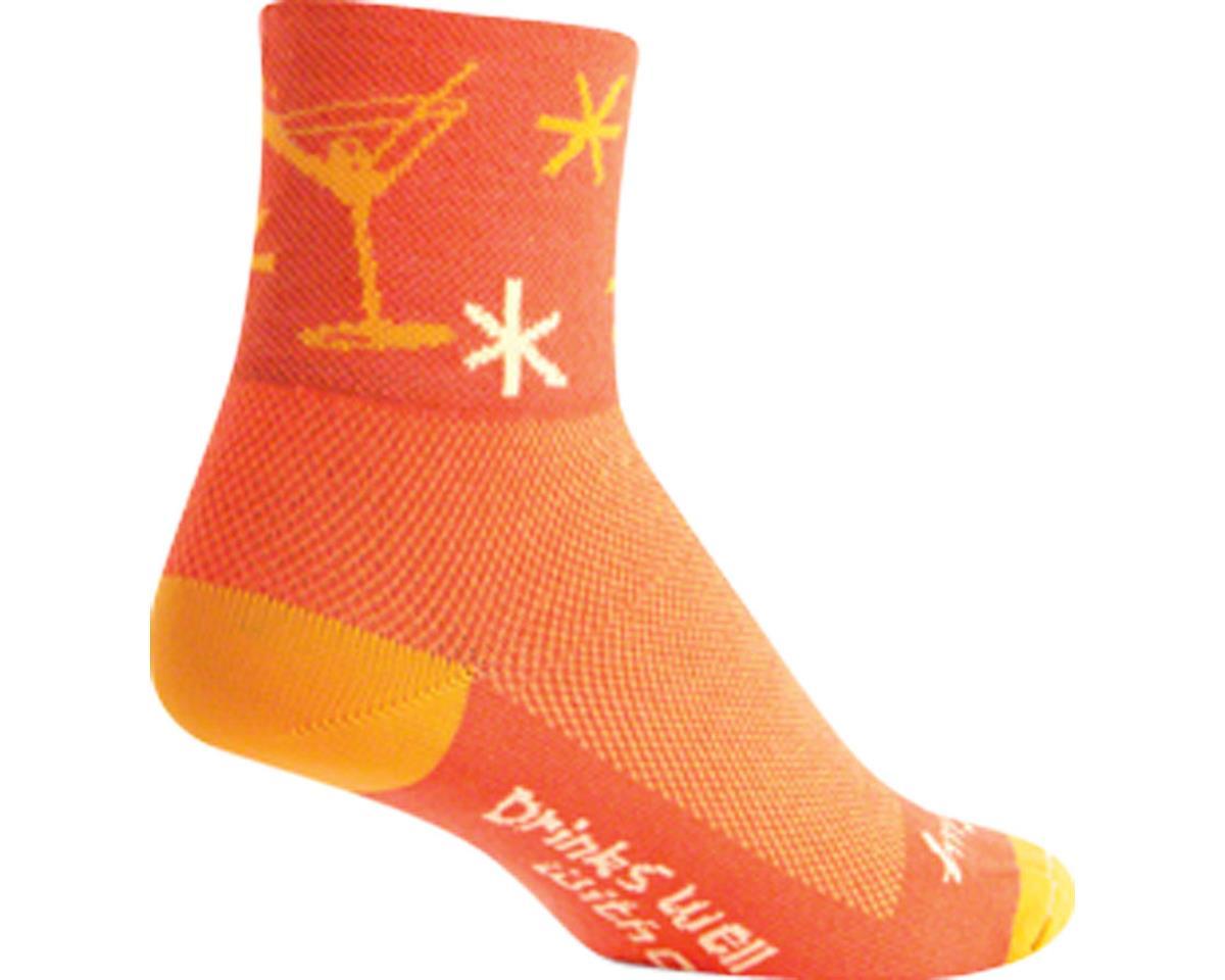"""Sockguy 3"""" Socks (Martini) (L/XL)"""