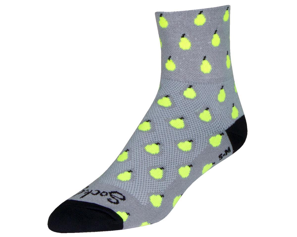 """Sockguy 3"""" Socks (Pears) (L/XL)"""