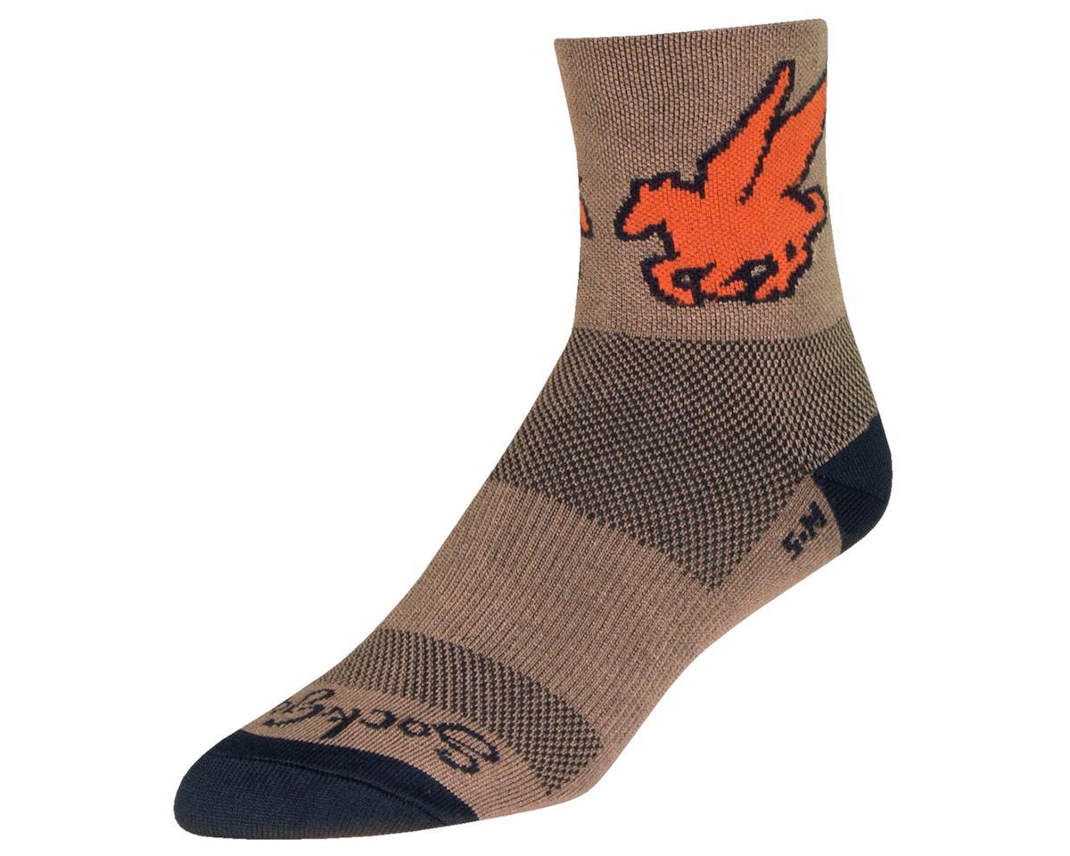 "Sockguy 4"" Socks (Pegasus) (S/M)"